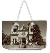 Santa Fe - Basilica Of St. Francis Of Assisi Weekender Tote Bag