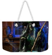 Scary Old Witch With A Cauldron Weekender Tote Bag