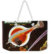Sci-fi Magazine Cover, 1931 Weekender Tote Bag