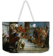 Scipio Africanus Freeing Massiva Weekender Tote Bag