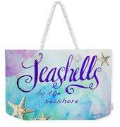 Seashells By Jan Marvin Weekender Tote Bag