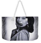 Selfportrait  Weekender Tote Bag by Colette V Hera Guggenheim