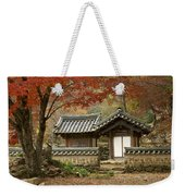 Seonamsa In Autumn Weekender Tote Bag