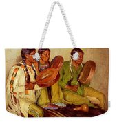 Sharp Joseph Henry Hunting Song Taos Indians Joseph Henry Sharp Weekender Tote Bag