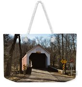Sheards Mill Covered Bridge - Bucks County Pa Weekender Tote Bag