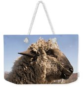 Sheep In Profile Weekender Tote Bag
