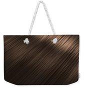 Shiny Brunette Hair  Weekender Tote Bag