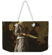 Singing A Pathetic Song Weekender Tote Bag