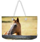 Single Horse Weekender Tote Bag
