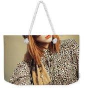 Sixties Retro Fashion Weekender Tote Bag