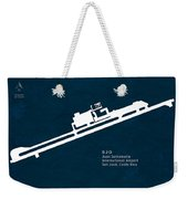 Sjo Juan Santamaria International Airport In San Jose Costa Rica Weekender Tote Bag