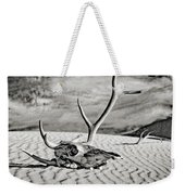 Skull And Antlers Weekender Tote Bag