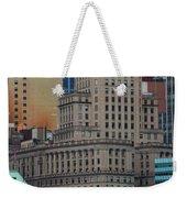 Skyline Of Manhattan - New York City Weekender Tote Bag