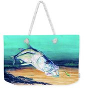 Snook On Jig Weekender Tote Bag