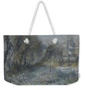 Snow Covered Landscape Weekender Tote Bag