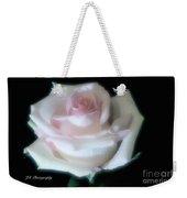 Soft Pink Rose Bud Weekender Tote Bag