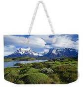 Springtime In Patagonia Weekender Tote Bag