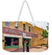 Standing On The Corner - Winslow Arizona Weekender Tote Bag