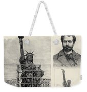 Statue Of Liberty, 1885 Weekender Tote Bag