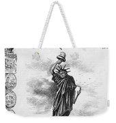 Statue Of Liberty Cartoon Weekender Tote Bag