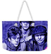 Stevie Ray Vaughan And Double Trouble Collection Weekender Tote Bag