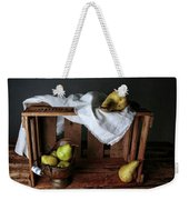 Still-life With Pears Weekender Tote Bag