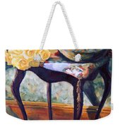 Still Life With Roses Weekender Tote Bag