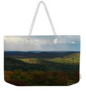 Storm Clouds Over Fall Nature Scenery Weekender Tote Bag