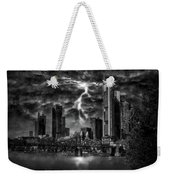 Storm Over Frankfurt Weekender Tote Bag