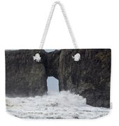 Storm Rock Weekender Tote Bag