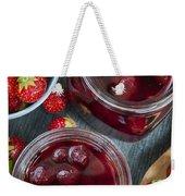 Strawberry Preserve Weekender Tote Bag