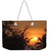 Sun View Weekender Tote Bag