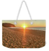 Sunrise Beach Seascape Weekender Tote Bag