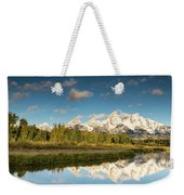 Sunrise In Wyoming Weekender Tote Bag