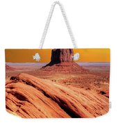 Sunrise Monument Valley Weekender Tote Bag