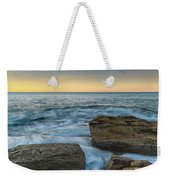 Sunrise On The Rocky Coast Weekender Tote Bag