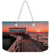 Sunset At Langedrag, Gothenburg Weekender Tote Bag
