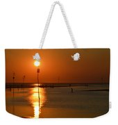 Sunset At Rock Harbor Weekender Tote Bag