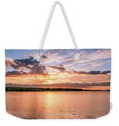 Sunset Over The Bay.......... Weekender Tote Bag