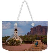 Superstition Mountain State Park Weekender Tote Bag