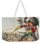 Swallow Destroying The French Army, Weekender Tote Bag