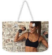 Sweat With Kayla Weekender Tote Bag