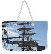 Tall Ship Weekender Tote Bag