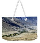 Tangsey Village Landscape Of Leh Ladakh Jammu And Kashmir India Weekender Tote Bag