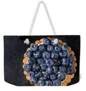 Tartlet With Blueberries Weekender Tote Bag