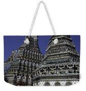 Temple Detail In Bangkok Thialand Weekender Tote Bag