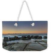 Tessellated Rock Platform And Seascape Weekender Tote Bag
