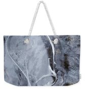 Texture Of Ice Weekender Tote Bag