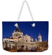 The Almudena Cathedral Weekender Tote Bag