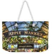 The Apple Market Covent Garden London Art Weekender Tote Bag